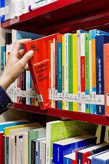 Symbolfoto Bibliothek